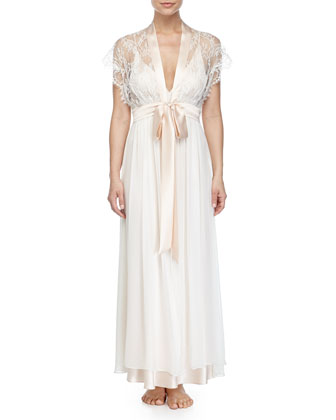 Ever After Long Robe & Gown, Blush