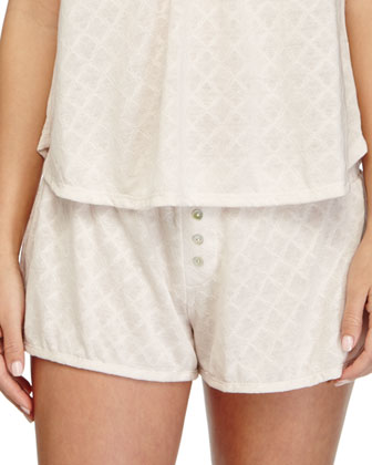 Earl Patterned PJ Camisole & Shorts