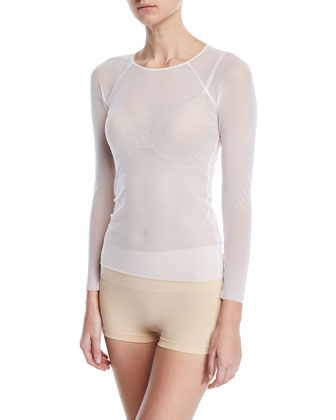 Soire Raglan Long-Sleeve Top