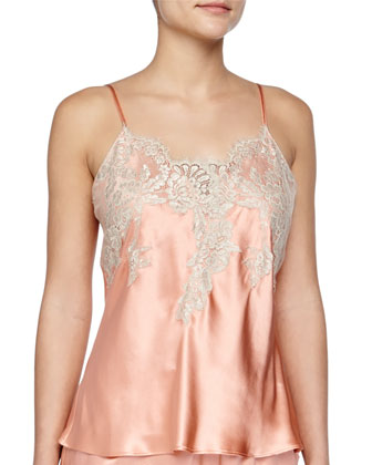 Macy Lace-Trimmed Camisole