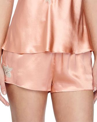 Mina Silk Lounge Shorts