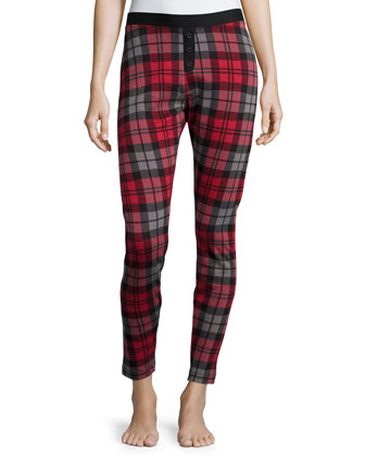 Whitney Plaid Lounge Leggings