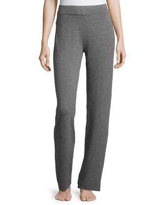 Cashmere Zip-Up Hoodie & Cashmere Lounge Pants