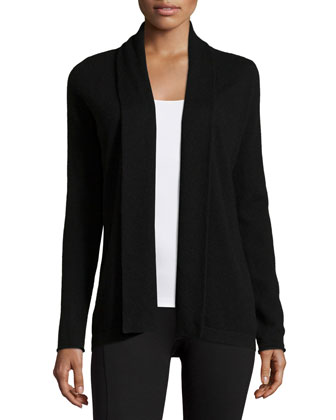 Shawl-Collar Cashmere Cardigan & Cashmere Lounge Pants