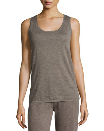 Cashmere Sleeveless Tank