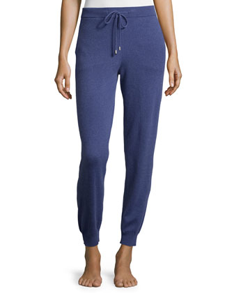 Cashmere Zip-Up Hoodie & Cashmere Jogger Lounge Pants