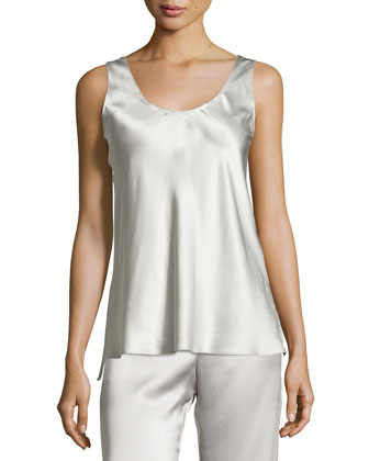 Silk Charmeuse Lounge Camisole