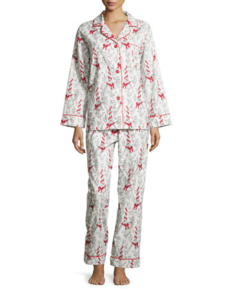 Eiffel Tower Printed Pajama Set