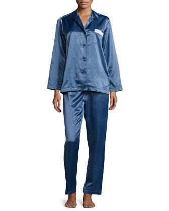 Monaco Long-Sleeve Pajama Set
