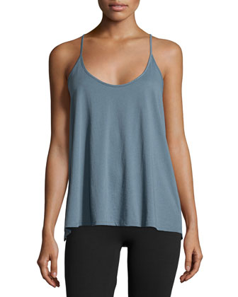 Racerback Camisole, Mineral Blue