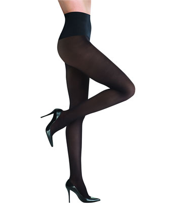 Semi-Opaque Tights, Black