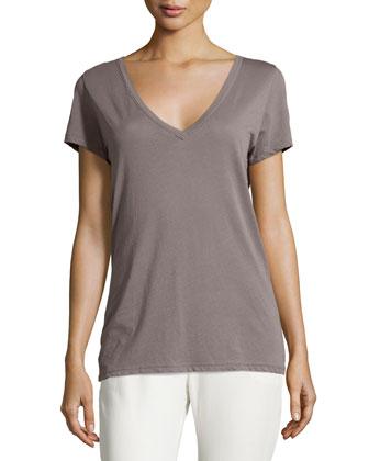Short-Sleeve V-Neck T-Shirt, Dusk