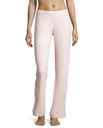 Organic Cotton Double-Layer Lounge Pants, Shell