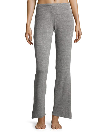 Cosi Heathered Long-Sleeve Top & Lounge Pants