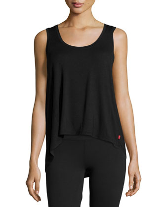 Josie Scoop-Neck Swing Tank