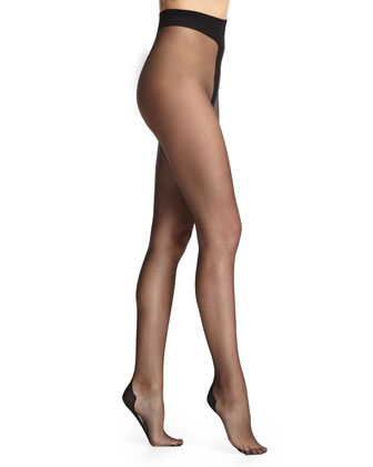 Back-Seam Sheer Tights