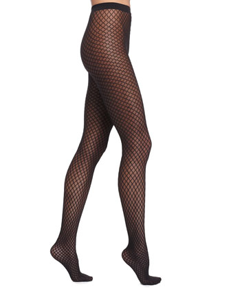 Sibylle Sheer Diamond Tights