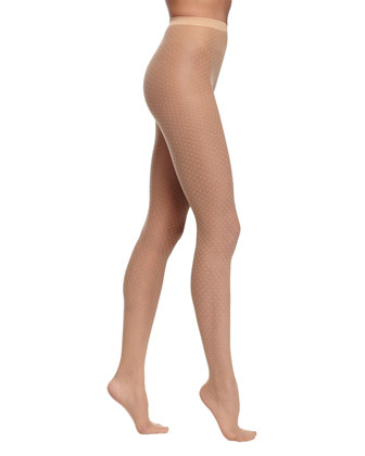 Valerie Dot-Pattern Sheer Tights