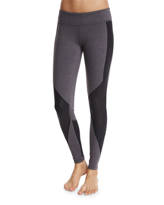 Undertone Colorblock-Paneled Sport Leggings