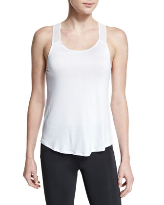 Gym Mesh-Shoulder Tank
