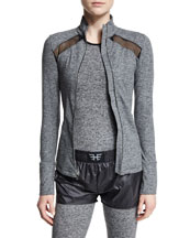Studio Performance Jacket with Mesh Panel
