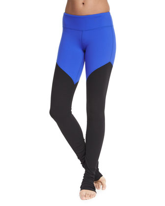 Trace 2 Colorblock Sports Bra & Goddess 2 Colorblock Ribbed Leggings