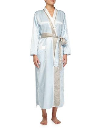 Monte Carlo Satin Long Robe