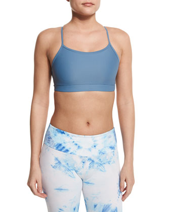 Triangle-Strap Sports Bra, Jean