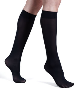 Wolford Velvet Deluxe Knee-Highs