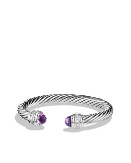 David Yurman Cable Classics Collection Bracelet, Amethyst, 7mm