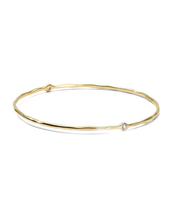 Two-Diamond Bangle