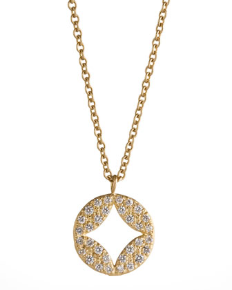 Pave Diamond Aladdin Pendant Necklace