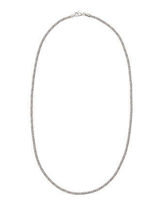 Classic Rope Chain Necklace, 16