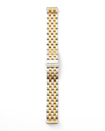 16mm Urban Mini Two-Tone Watch Bracelet, Stainless/Gold