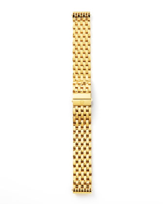 18mm Deco Watch Bracelet, Yellow Gold
