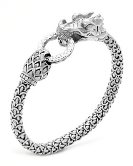 John Hardy Naga Dragon Diamond-Ring Bracelet