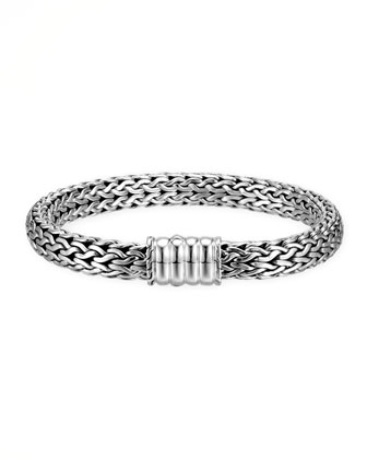 Bedeg Silver Medium Chain Bracelet
