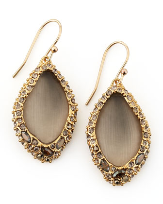 Neo Boho Medium Pave-Encased Drop Earrings