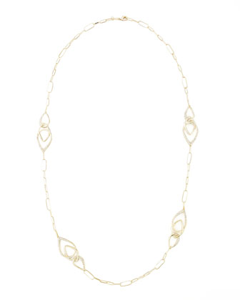 Miss Havisham Orbiting Crystal Station Necklace, 40