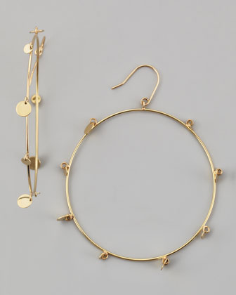 Large Gypsy La Bangle Hoops