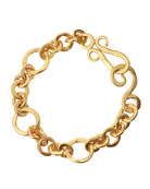 Coronation 24k Gold Plate Small Bracelet