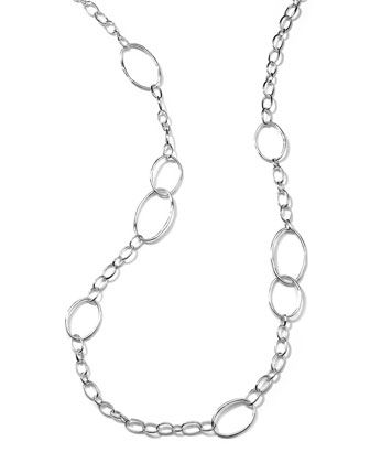 Scultura Silver Big Link Chain Necklace, 45