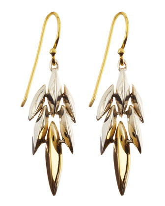 Tiered Mini Cascade Marquise Earrings