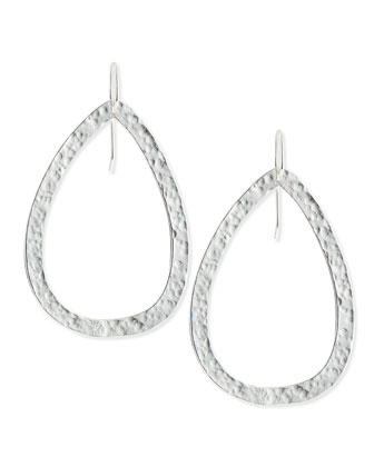 Paris Single-Drop Large Teardrop Earrings