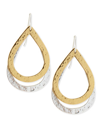 Paris Double-Drop Medium Earrings