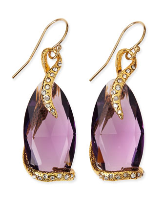 Maldivian Hydroquartz Pink Amethyst Earrings