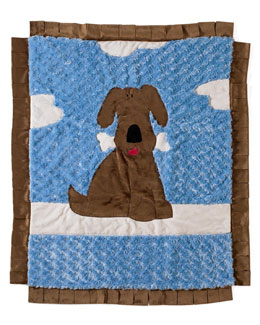 Boogie Baby Good Puppy Blanket, Boy