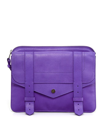 PS1 Lambskin iPad Case, Purple Rain