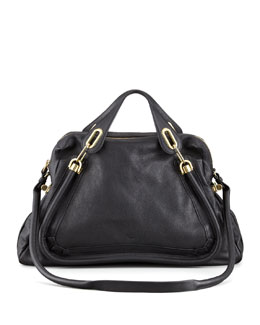 Chloe Paraty Shoulder Bag, Black