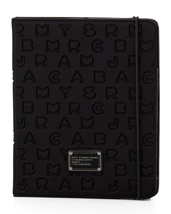 Dreamy Logo Neoprene Tablet Case, Black